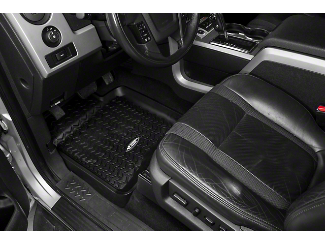 Rugged Ridge Front Floor Liners - Black (09-14 F-150)