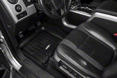Rugged Ridge Front Floor Liners - Black (09-14 All)