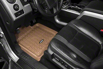 Rugged Ridge Front Floor Liners - Tan (09-14 All)