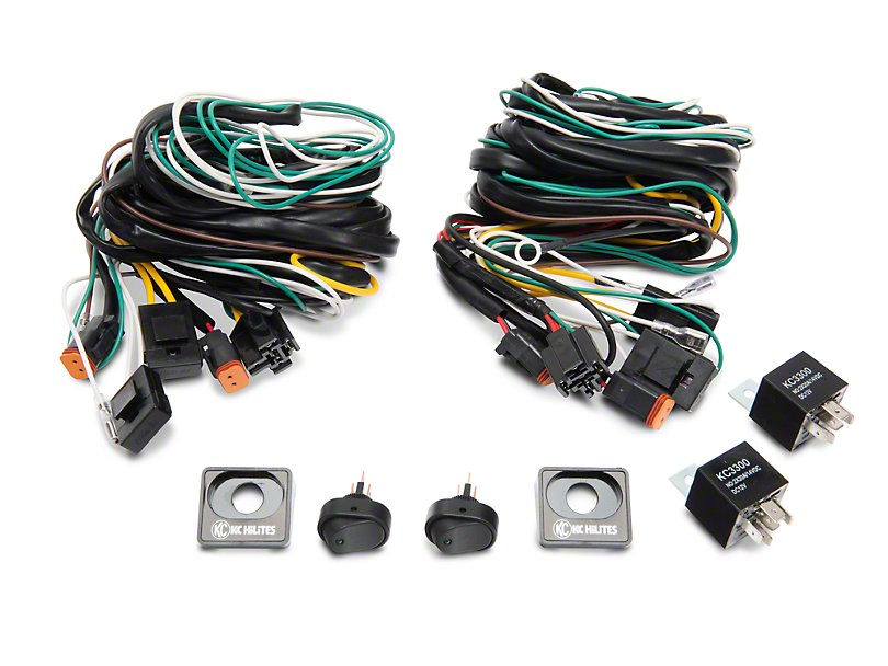 ford performance f 150 auxilary light wiring harness kit m 15525 ford performance auxilary light wiring harness kit 97 19 f 150 w