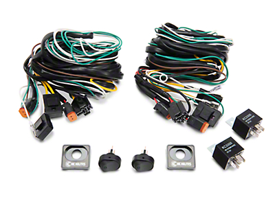 Ford Performance Auxilary Light Wiring Harness Kit (97-17 w/o OEM In-Dash Aux Switches)