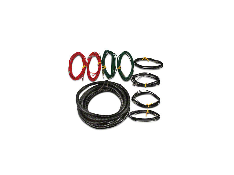 Ford Performance Auxilary Light Wiring Harness Kit (97-17 w/ OEM In-Dash Aux Switches)
