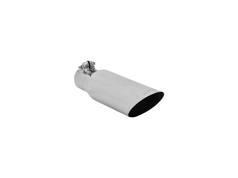 Flowmaster 3.5 in. Polished SS Angle Cut Exhaust Tip - 2.5 in. Connection (97-18 F-150)