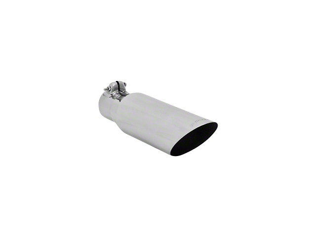 Flowmaster 3.5 in. Polished Angle Cut Exhaust Tip - 2.5 in. Connection (97-19 F-150)