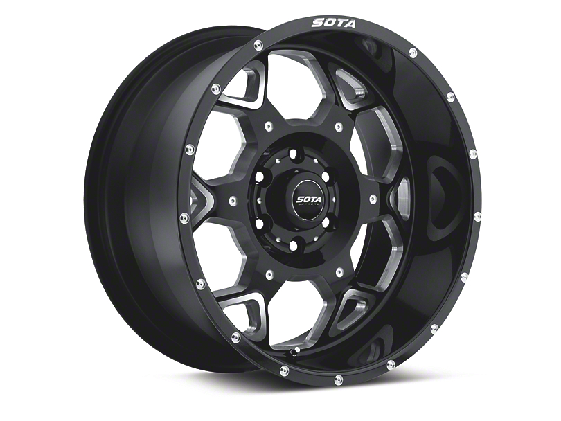 SOTA Off Road SKUL Death Metal 6-Lug Wheel - 20x9 (04-18 F-150)
