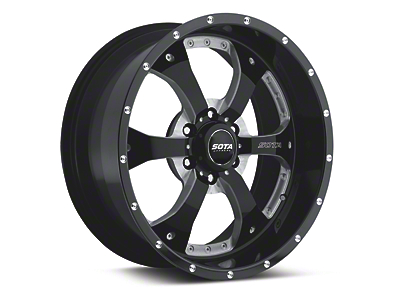 SOTA Off Road NOVAKANE Death Metal 6-Lug Wheel - 18x9 (04-18 F-150)