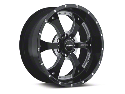 SOTA Off Road NOVAKANE Death Metal 6-Lug Wheel - 20x9 (04-19 F-150)