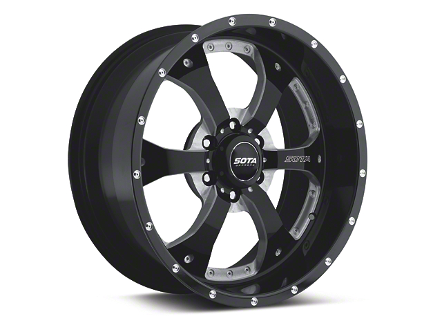SOTA Off Road NOVAKANE Stealth Black 6-Lug Wheel - 18x9 (04-18 All)