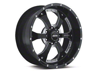 SOTA Off Road NOVAKANE Stealth Black 6-Lug Wheel - 18x9 (04-19 F-150)