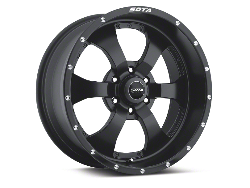 SOTA Off Road NOVAKANE Stealth Black 6-Lug Wheel - 20x9 (04-19 F-150)