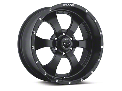 SOTA Off Road NOVAKANE Stealth Black 6-Lug Wheel - 20x9 (04-18 All)