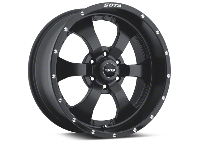 SOTA Off Road NOVAKANE Stealth Black 6-Lug Wheel - 20x10 (04-19 F-150)