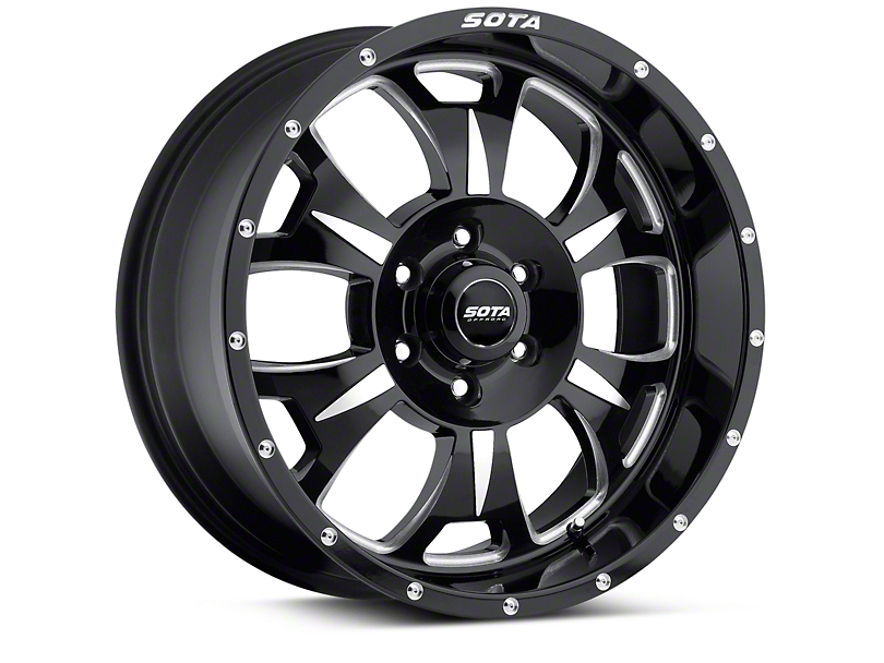SOTA Off Road M-80 Death Metal 6-Lug Wheel - 20x9 (04-18 F-150)