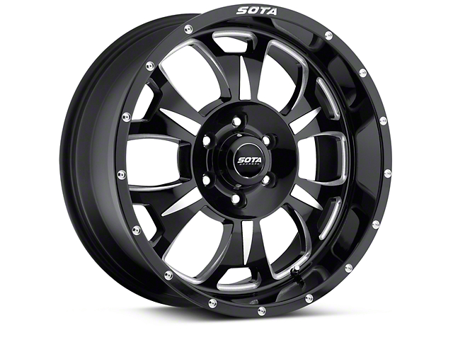 SOTA Off Road M-80 Death Metal 6-Lug Wheel - 20x9 (04-18 All)