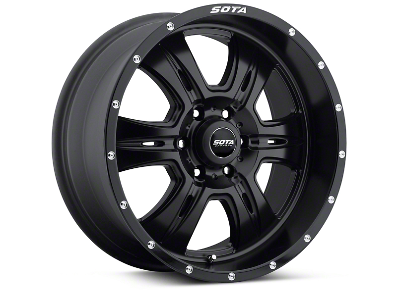 SOTA Off Road REHAB Stealth Black 6 Lug Wheel - 20x9 (04-17 All)