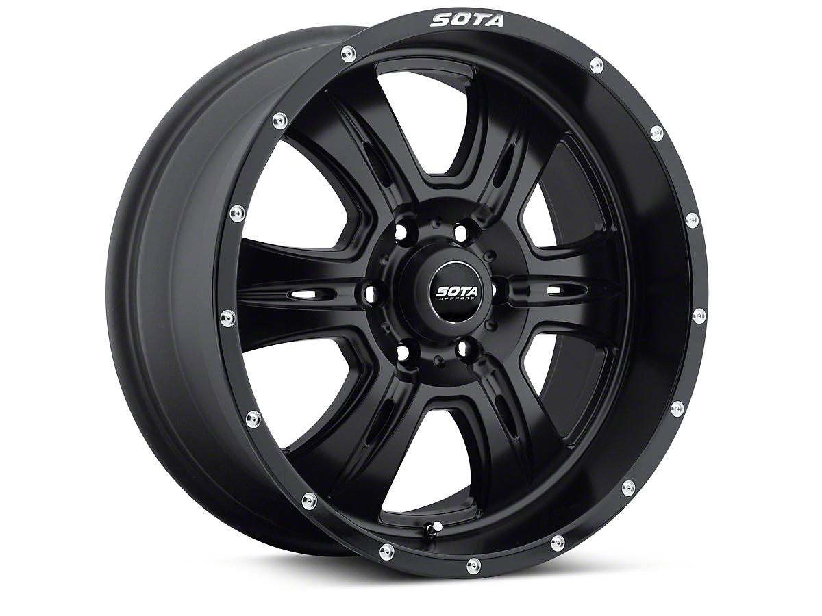 SOTA Off Road Stealth Black REHAB 6 Lug Wheel - 20x9 (04-17 All)