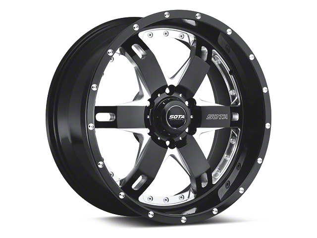 SOTA Off Road Death Metal REPR 6-Lug Wheel - 20x9 (04-17 All)