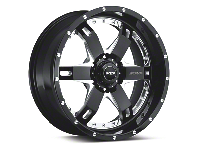 SOTA Off Road REPR Death Metal 6-Lug Wheel - 20x9 (04-18 All)