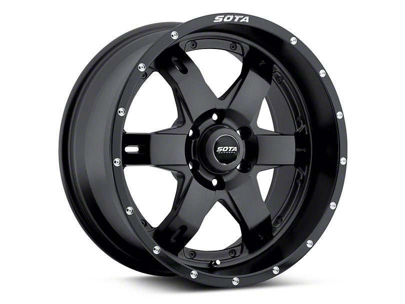 SOTA Off Road REPR Stealth Black 6-Lug Wheel - 20x9 (04-18 All)