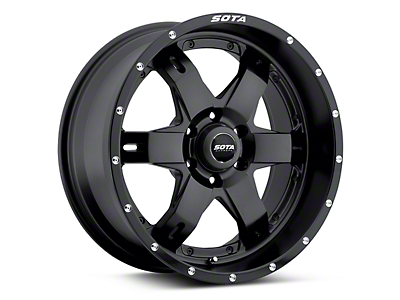 SOTA Off Road REPR Stealth Black 6-Lug Wheel - 20x9 (04-19 F-150)