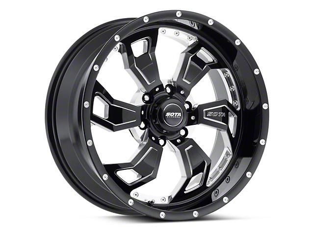SOTA Off Road SCAR Death Metal 6-Lug Wheel - 20x9 (04-18 F-150)