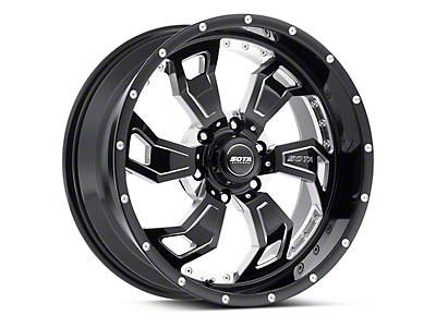 SOTA Off Road SCAR Death Metal 6-Lug Wheel - 20x9 (04-18 All)