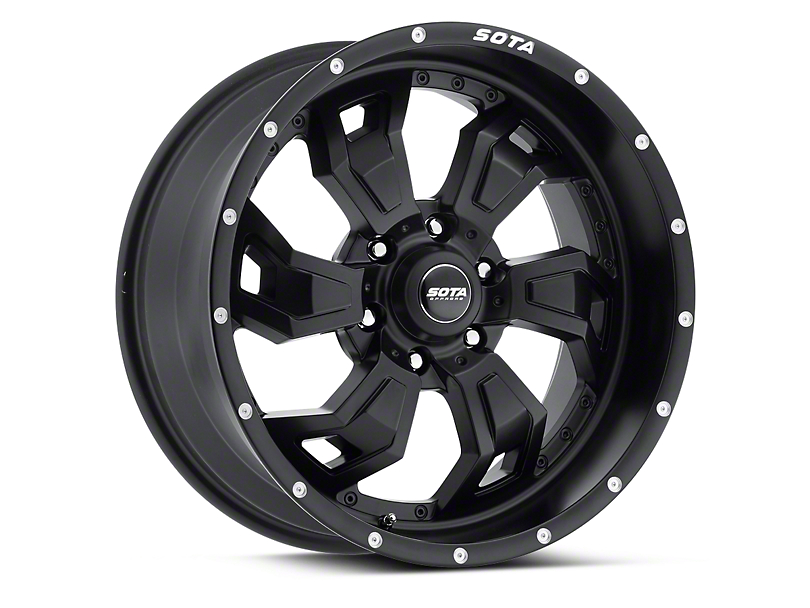 SOTA Off Road SCAR Stealth Black 6-Lug Wheel - 20x9 (04-18 All)