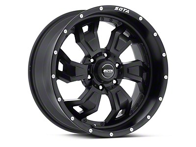 SOTA Off Road SCAR Stealth Black 6-Lug Wheel - 20x9 (04-19 F-150)