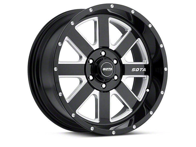 SOTA Off Road AWOL Death Metal 6-Lug Wheel - 20x9 (04-18 All)