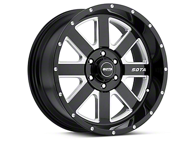 SOTA Off Road AWOL Death Metal 6-Lug Wheel - 20x9 (04-18 F-150)