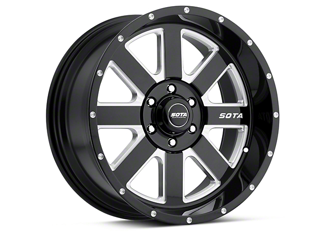 SOTA Off Road AWOL Death Metal 6-Lug Wheel - 20x10 (04-18 All)