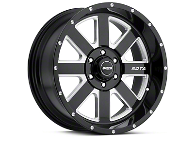 SOTA Off Road AWOL Death Metal 6-Lug Wheel - 20x12 (04-18 All)