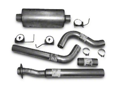 Heartthrob 4 in. Aluminized Single Exhaust System - Side Exit (15-19 2.7L EcoBoost F-150)