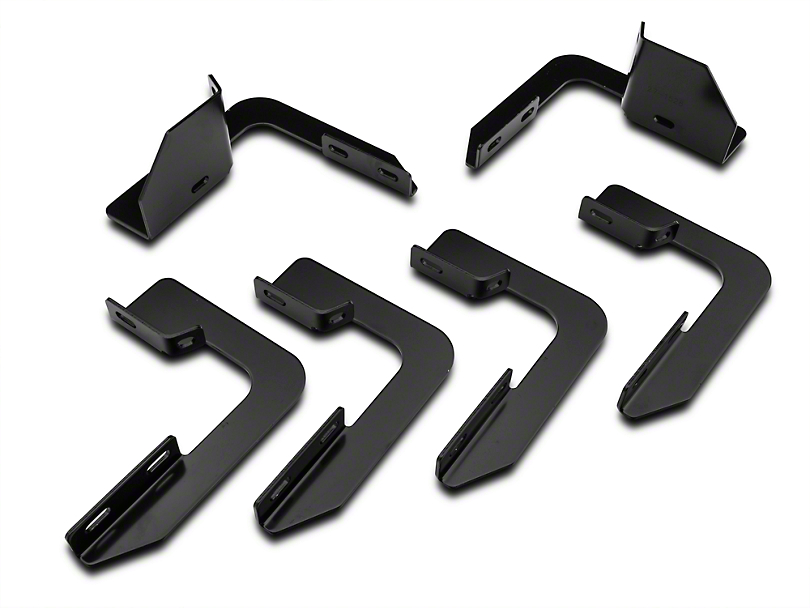 Westin Molded/Sure Grip Running Board Mounting Kit - Black (09-14 All, Excluding Raptor)