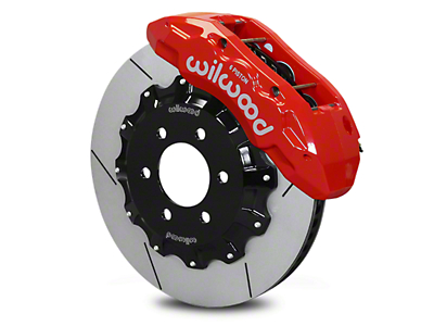 Wilwood Tactical Xtreme TX6R Front Brake Kit - Red (10-17 All)