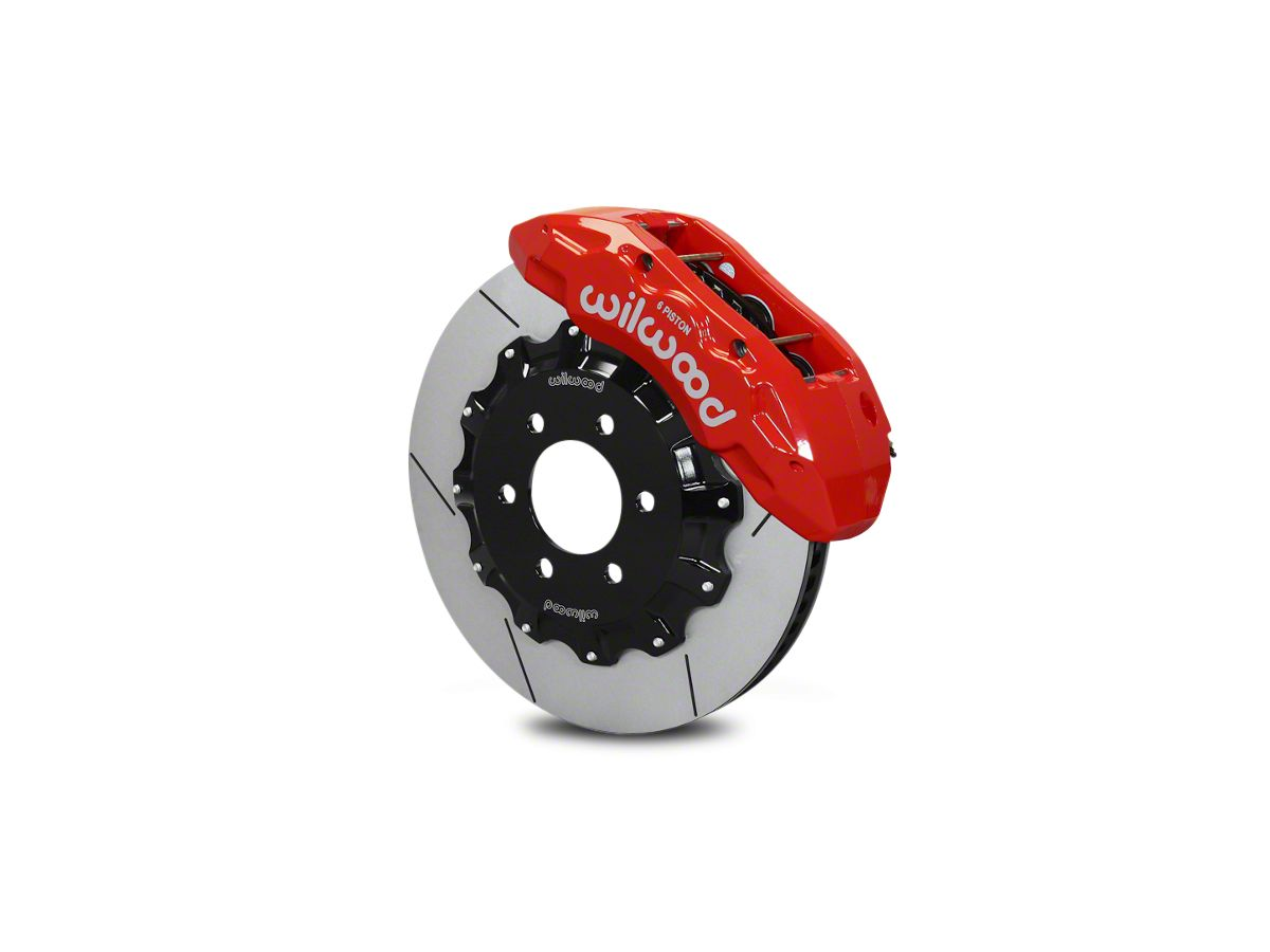Wilwood Tactical Xtreme TX6R Front Big Brake Kit - Red Calipers (10-18  F-150)