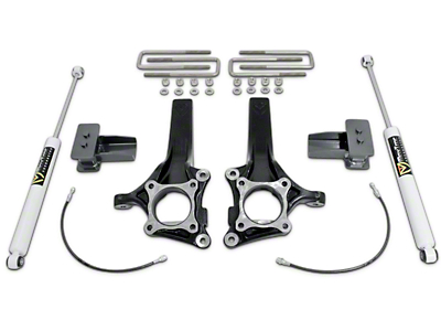 Max Trac 4 in./2 in. Lift Kit w/ MaxTrac Shocks (09-14 2WD w/o Factory Blocks)