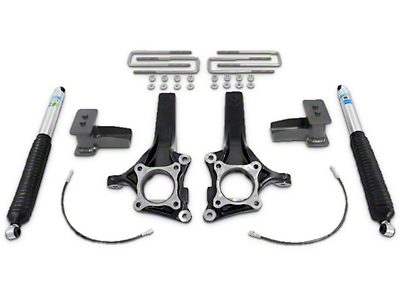 Max Trac 4 in./2 in. Lift Kit w/ MaxTrac Shocks (09-14 2WD w/ Factory Blocks)