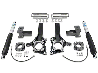 Max Trac 6.5 in. Front / 4 in. Rear Lift Kit w/ Shocks (09-14 2WD F-150 w/o Factory Blocks)