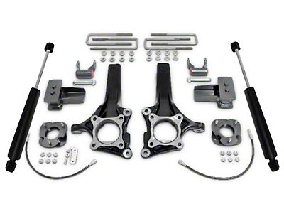 Max Trac 6.5 in. / 4 in. Lift Kit w/ MaxTrac Shocks (09-14 2WD w/ Factory Blocks)