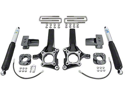Max Trac 7 in. Front / 4 in. Rear Lift Kit w/ MaxTrac Shocks (15-17 2WD)