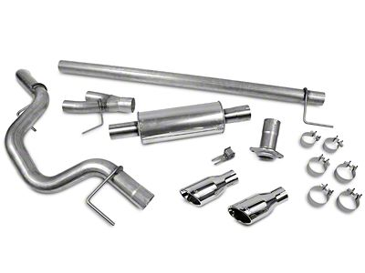 Roush Single Exhaust System - Side Exit (15-19 2.7L EcoBoost F-150)