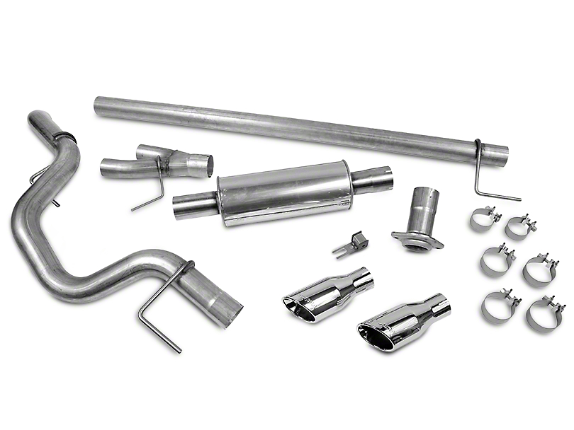 Roush Single Exhaust System - Side Exit (15-17 3.5L V6)