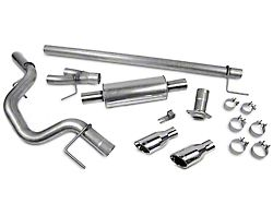 Roush Single Exhaust System with Polished Tips; Side Exit (15-20 5.0L F-150)