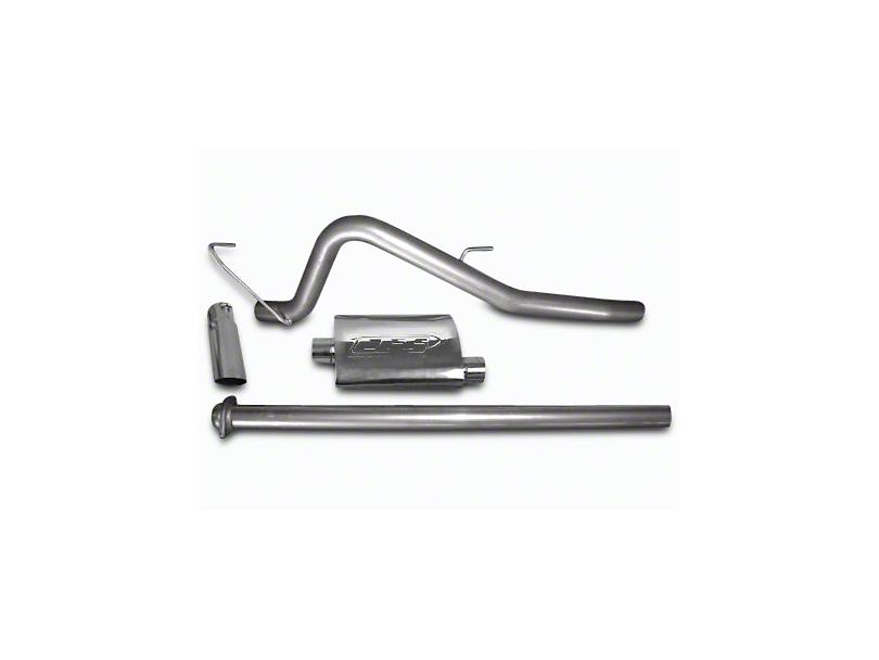 CGS Motorsports Aluminized Single Exhaust System - Mild Tone - Side Exit (11-14 5.0L F-150)