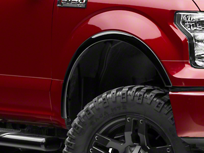 Putco Black Platinum Fender Trim (15-17 F-150, Excluding Raptor)