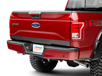 Black Platinum Tailgate Upper and Lower Accent (15-17 All)
