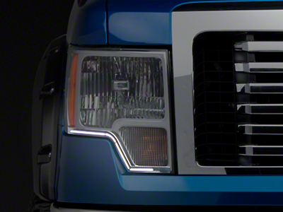 Putco SwitchBack LED DayLiners - Brushed (09-14 F-150)