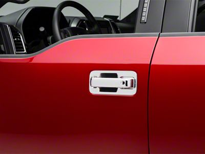 Putco Door Handle Covers - Chrome w/ Driver Keyhole - Bucket Pieces (15-19 F-150 SuperCrew)