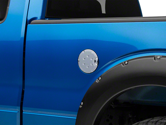 Putco Fuel Tank Door Cover - Chrome (09-14 F-150 Styleside)